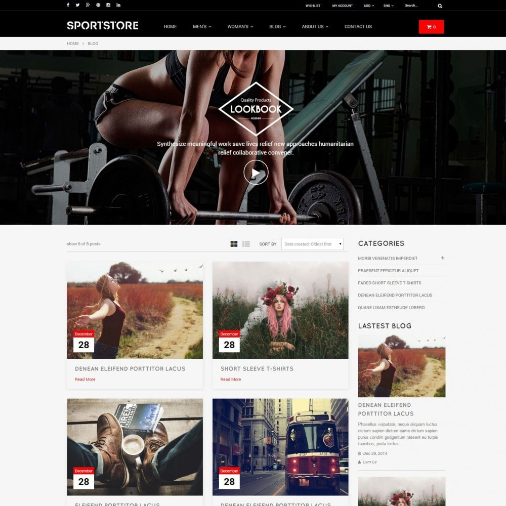 theme - Спорт и Путешествия - Sport Gym & Fitness Responsive Theme - 3