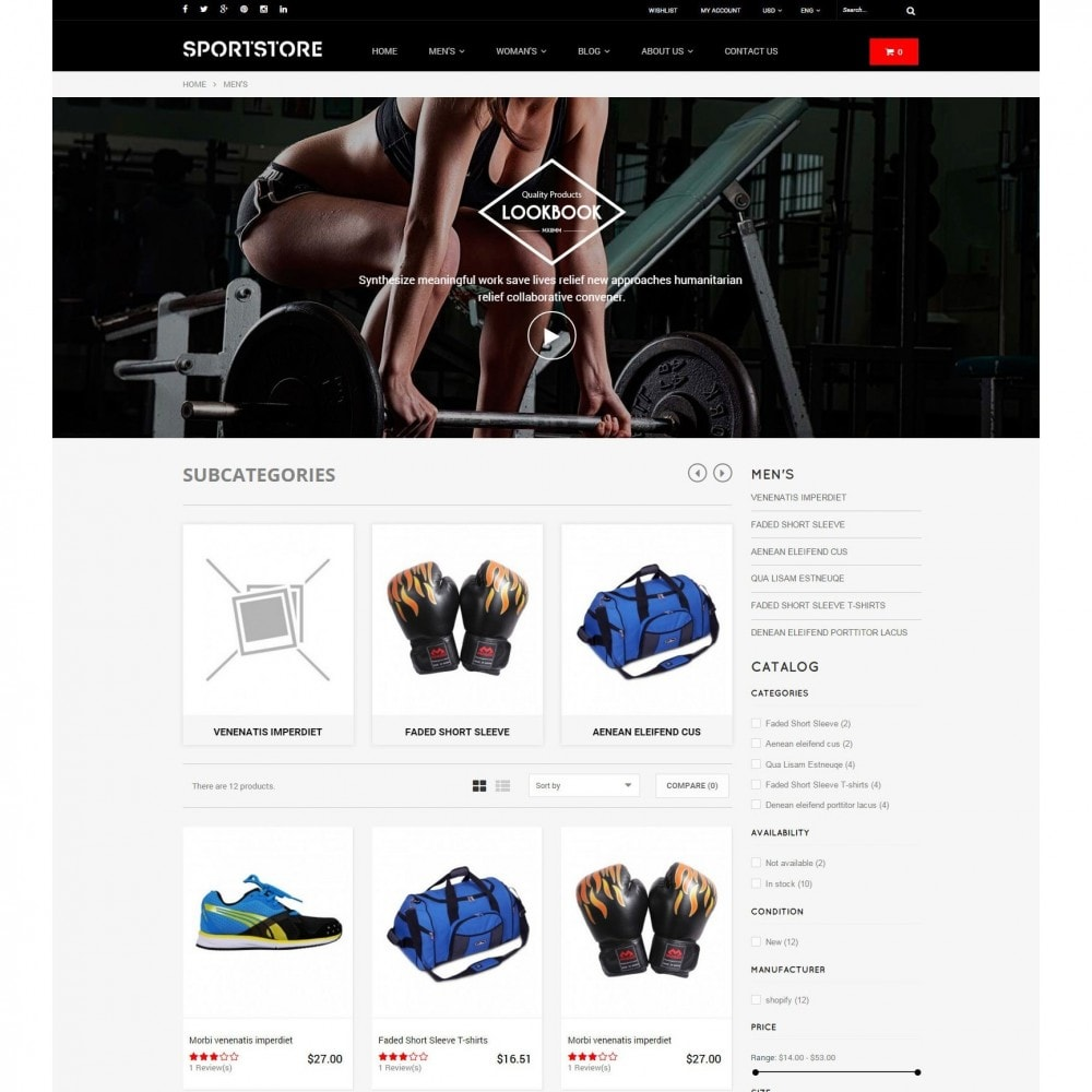 theme - Спорт и Путешествия - Sport Gym & Fitness Responsive Theme - 4