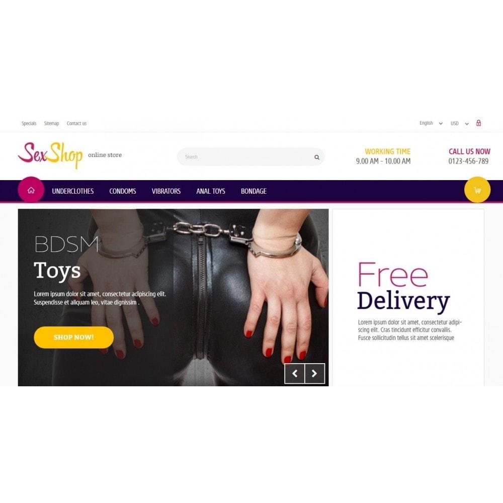 theme - Lingerie & Adult - SexShop Online Store - 3