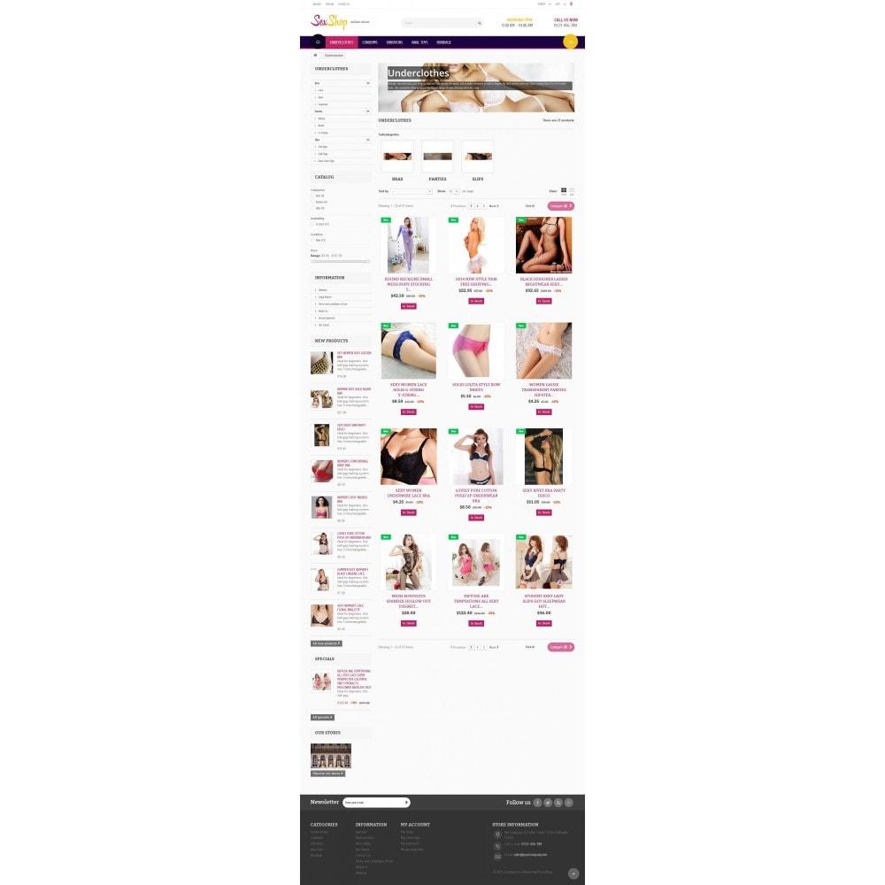 theme - Lingerie & Adulte - SexShop Online Store - 5