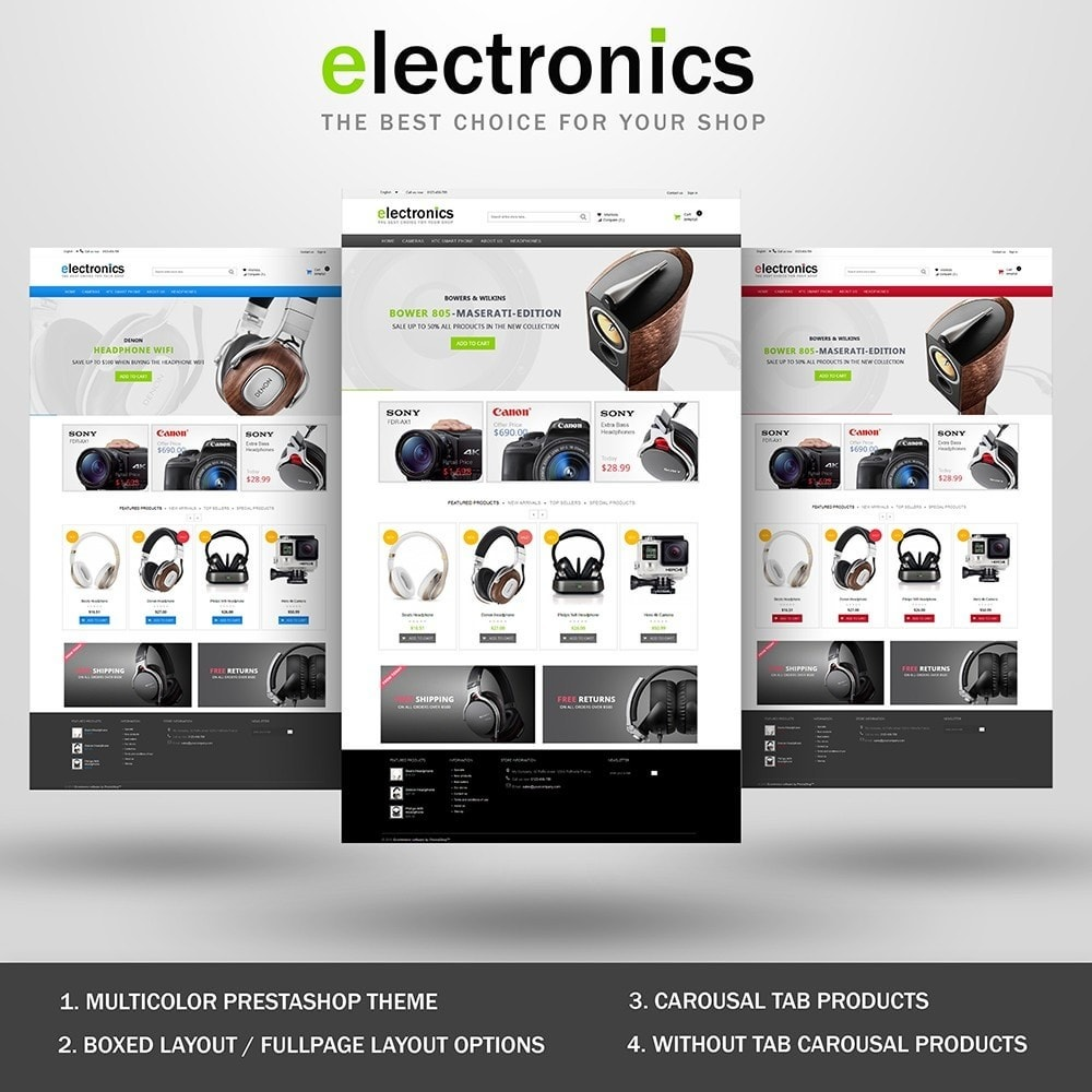 theme - Elektronika & High Tech - Electronics shop - 1