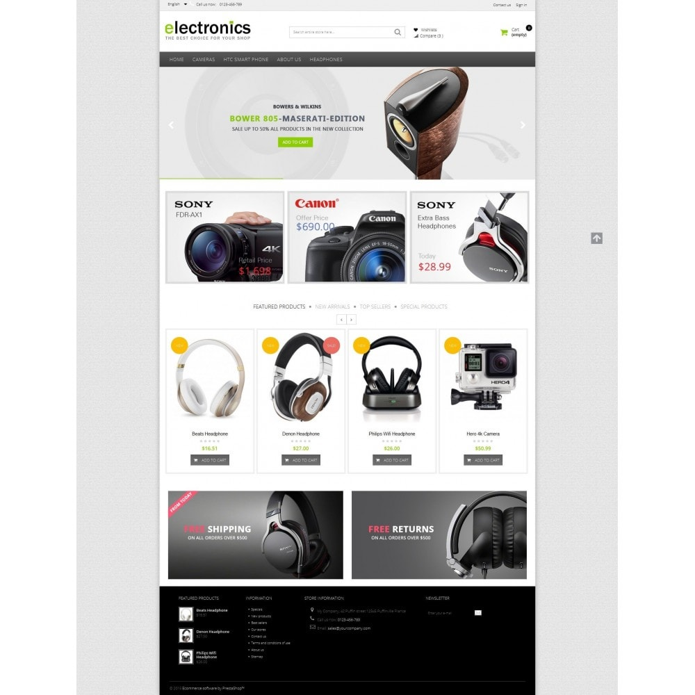 theme - Elektronika & High Tech - Electronics shop - 5