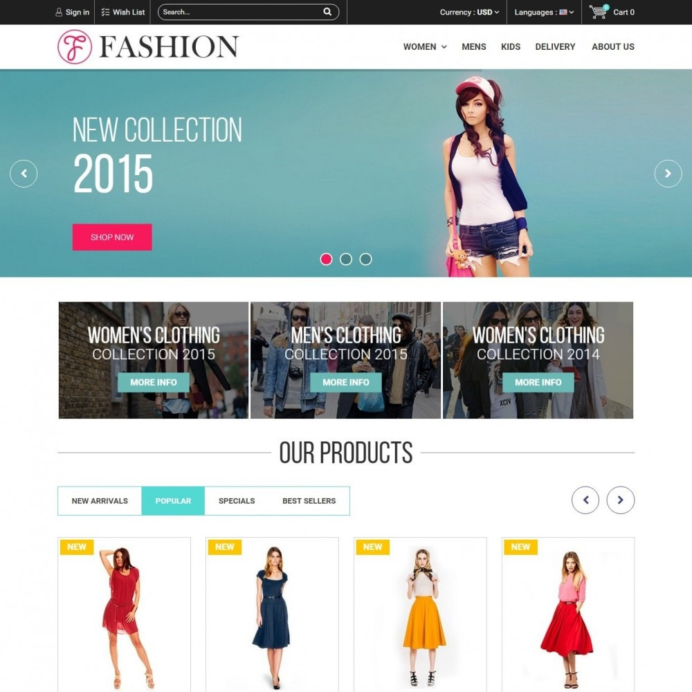 theme - Mode & Schoenen - Fashion Style - Сlothes Store - 3