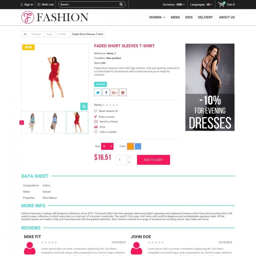 theme - Moda & Calçados - Fashion Style - Сlothes Store - 5