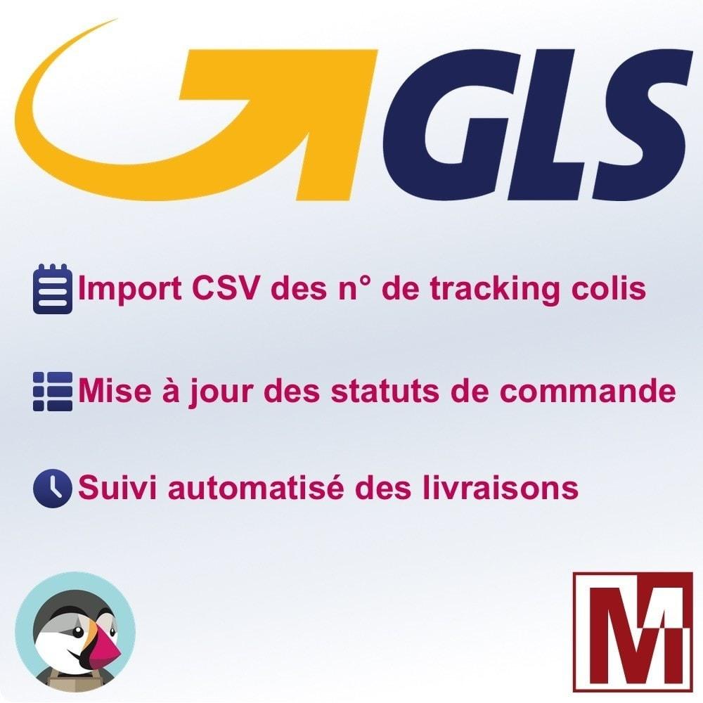 module - Suivi de livraison - GLS Numero de suivi et statut automatique - 1