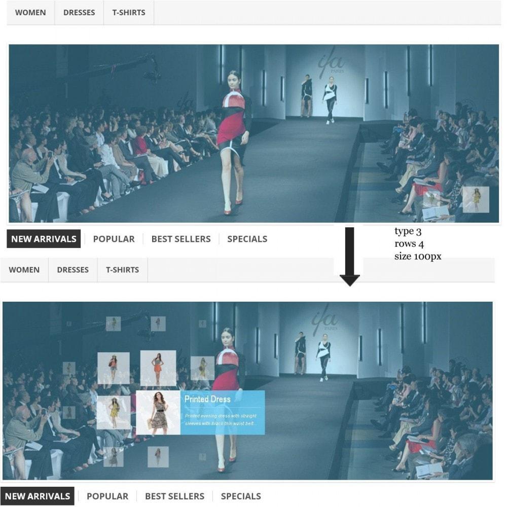 module - Sliders y Galerías de imágenes - Efecto de proximidad - Ideas de presentaciones - 2