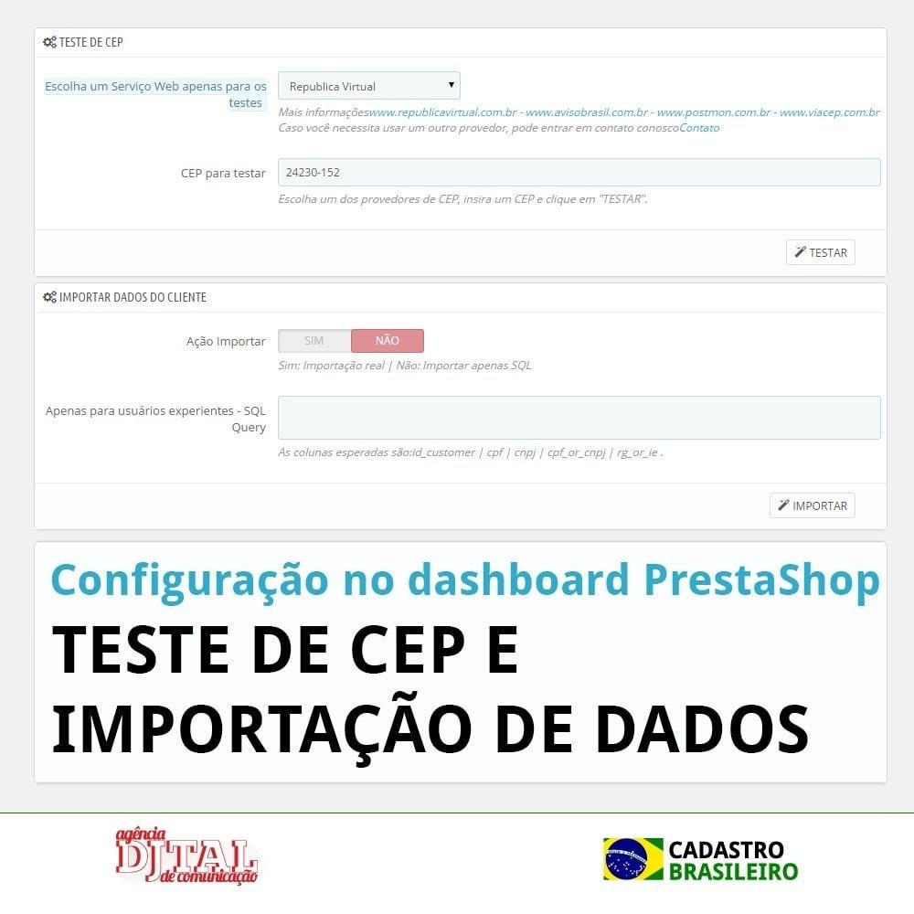 module - Pегистрации и оформления заказа - Brazilian Registration - 7