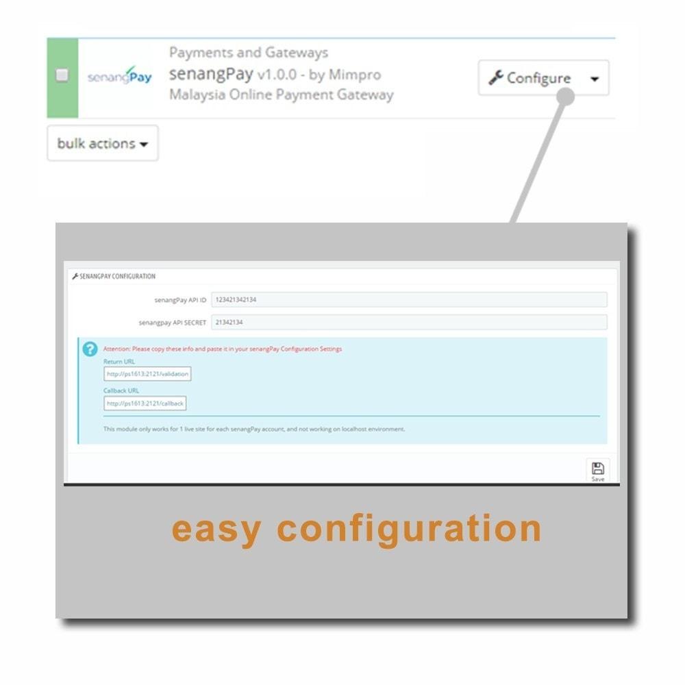 module - Zahlung per Kreditkarte oder Wallet - senangPay - 6