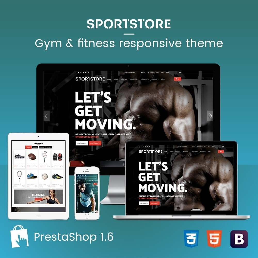 Sport Gym & Fitness Responsive Theme