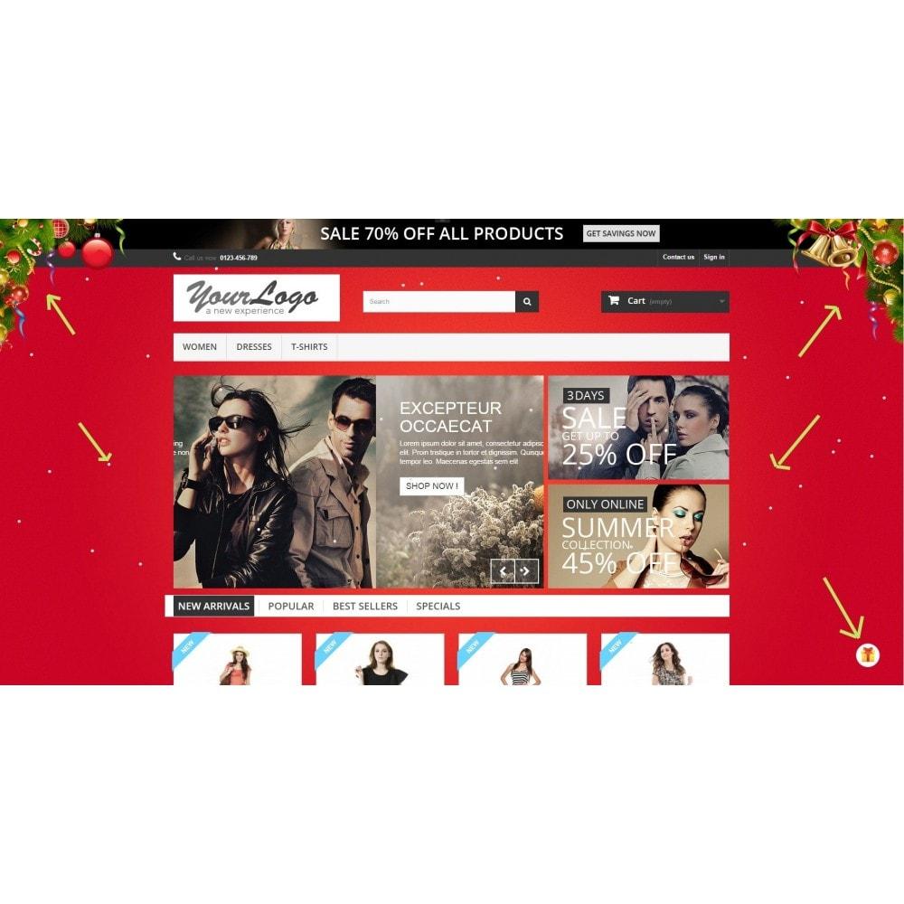 module - Personalizzazione pagine - Christmas Theme Configurator - 2