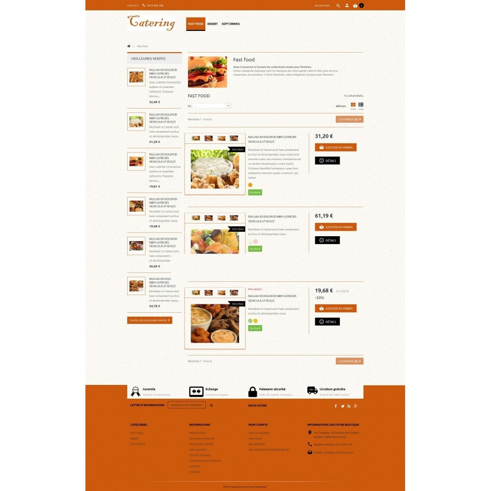 theme - Lebensmittel & Restaurants - Catering - 3