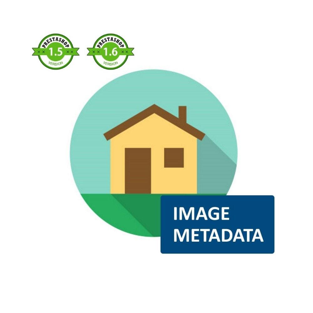 module - SEO (Pozycjonowanie naturalne) - Image Metadata - 1