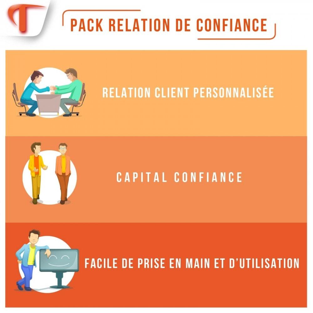 pack - Promotions & Cadeaux - Relation de confiance - 1