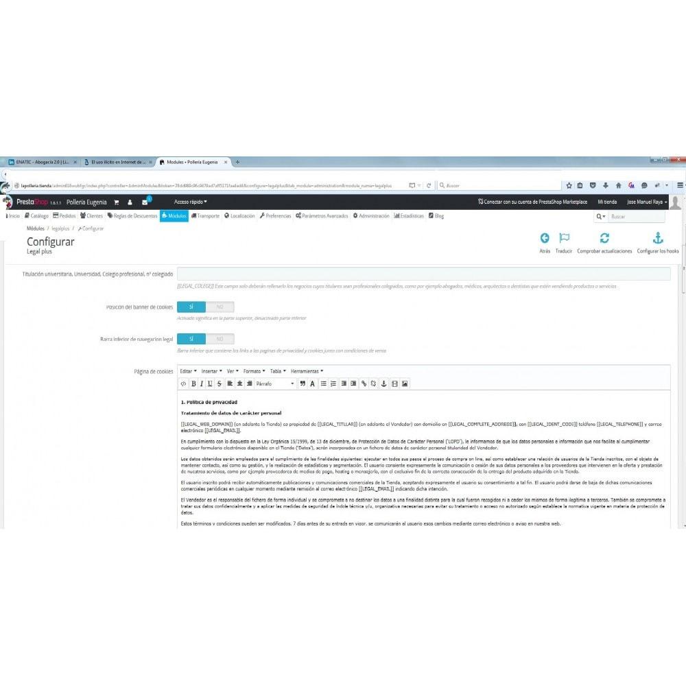 module - Legale (Legge Europea) - LEGALPLUS - 2