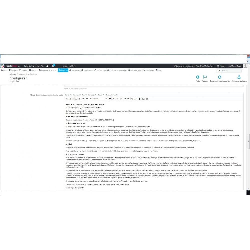 module - Marco Legal (Ley Europea) - LEGALPLUS - 3