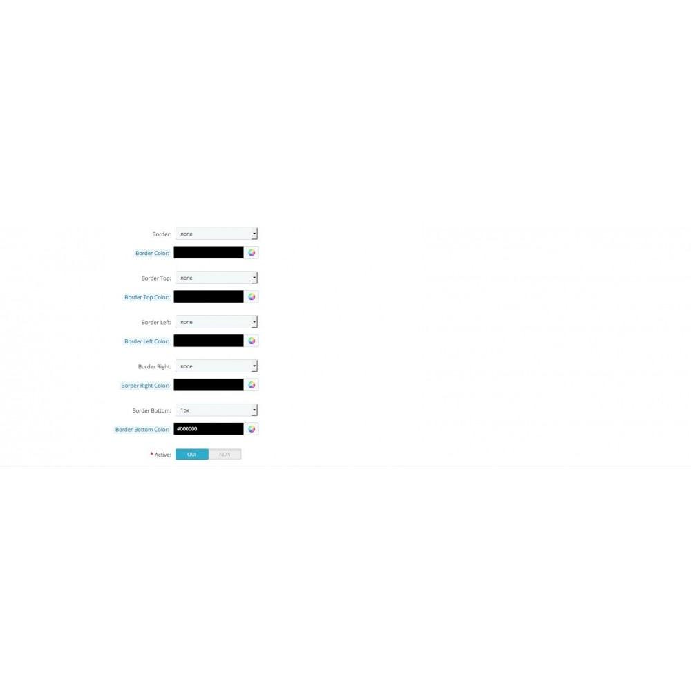 module - Personnalisation de Page - Page d'accueil personnalisable diaporamas - 6