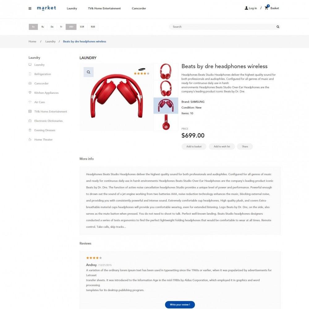 theme - Electronique & High Tech - SuperMarché Boutique - 4