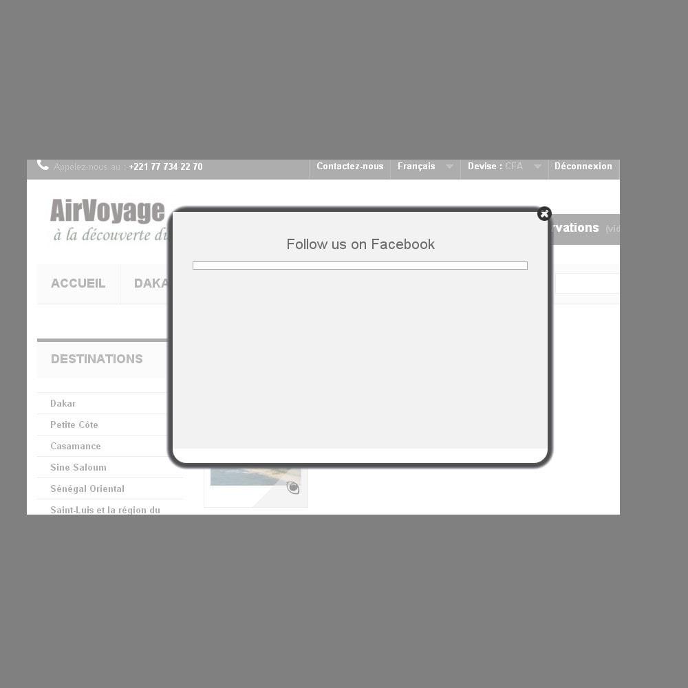module - Всплывающие окна pop-in и pop-up - PopUp Сообщение  Pro - 4
