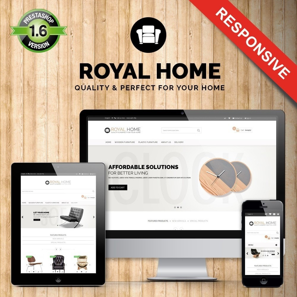 theme - Casa & Jardins - Ultimate! Royalhome Elegant - 1