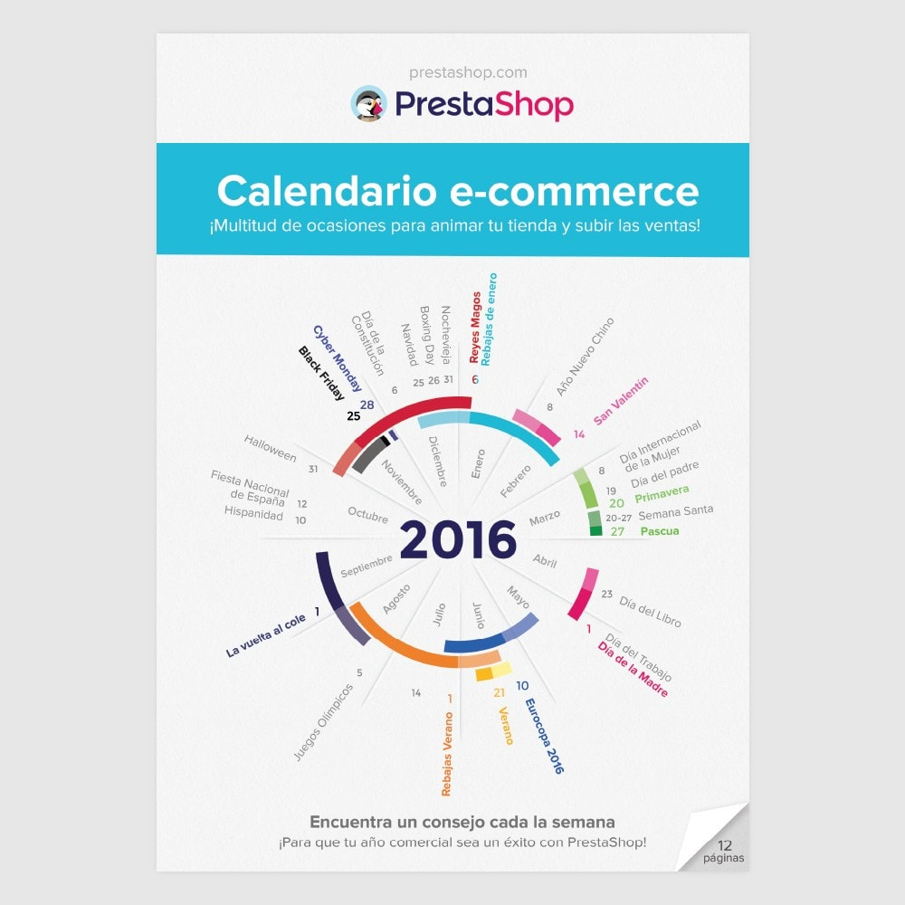 other - Calendario e-Commerce - Calendario e-Commerce 2016 España - 1
