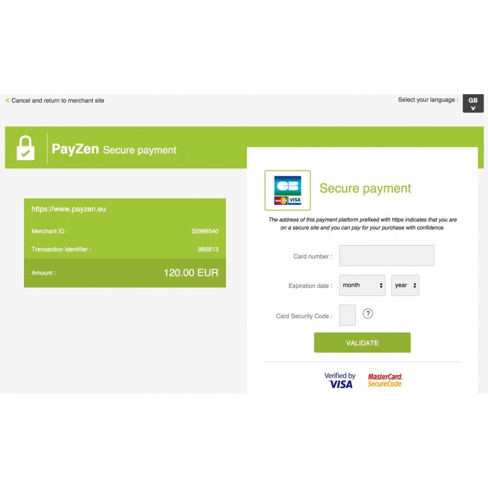 module - Creditcardbetaling of Walletbetaling - Advanced Payment Gateway by Altireo - 3