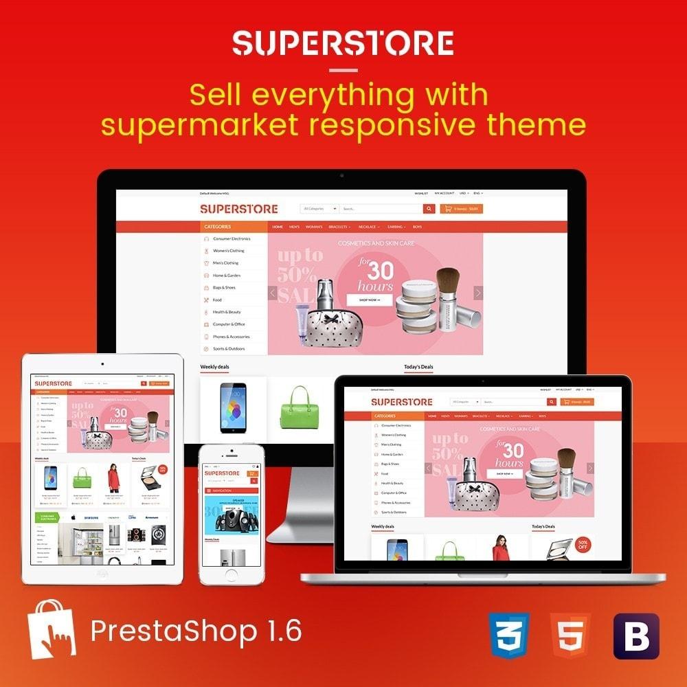 Supermarket - Appliances, Electronics & Fashion Store