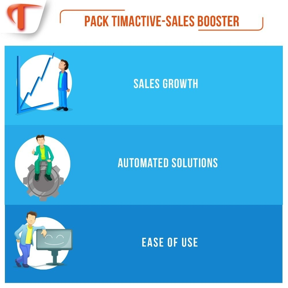 pack - Remarketing & Shopping Cart Abandonment - Sales Booster - 1