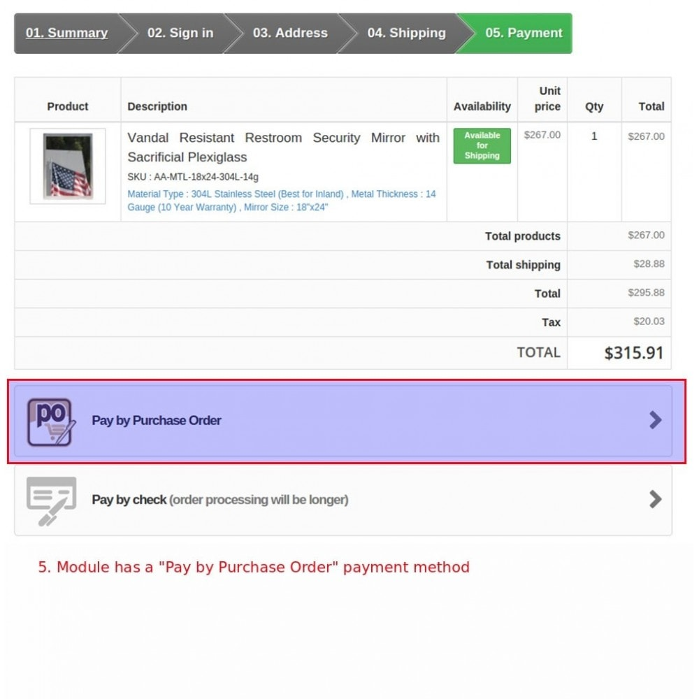 module - B2B - Easy B2B for Purchase Orders and Invoices - 5