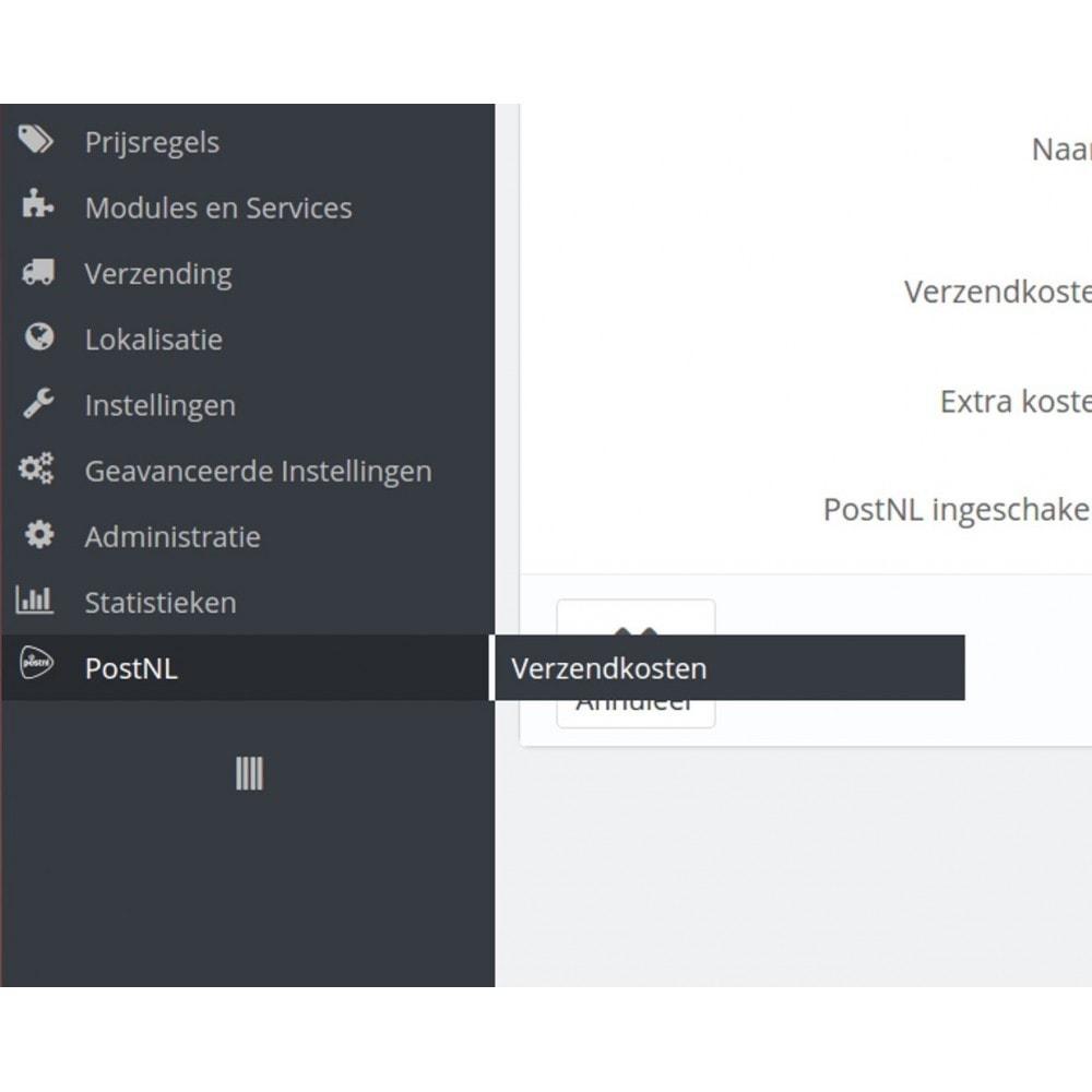 module - Verzendkosten - PostNL Verzendkosten - 6
