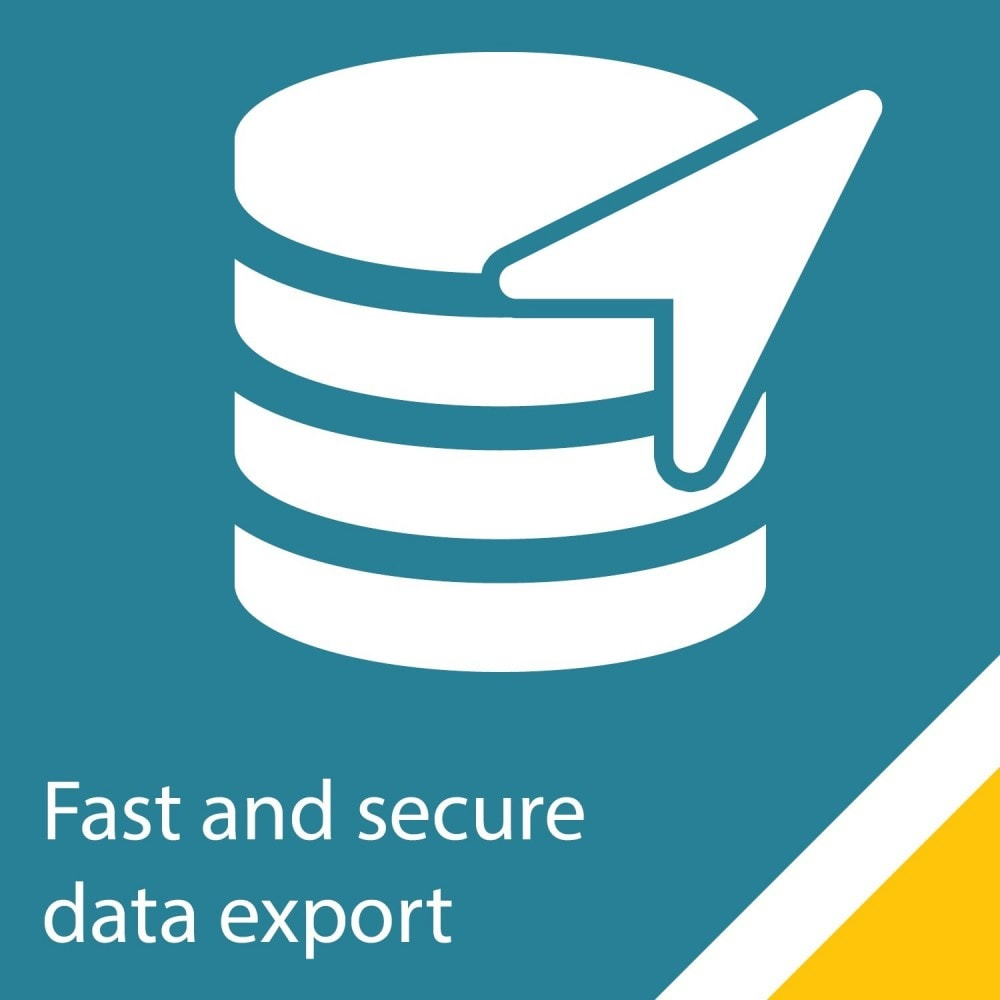 module - Importeren en Exporteren van data - Simple and secure customer / order export - 1