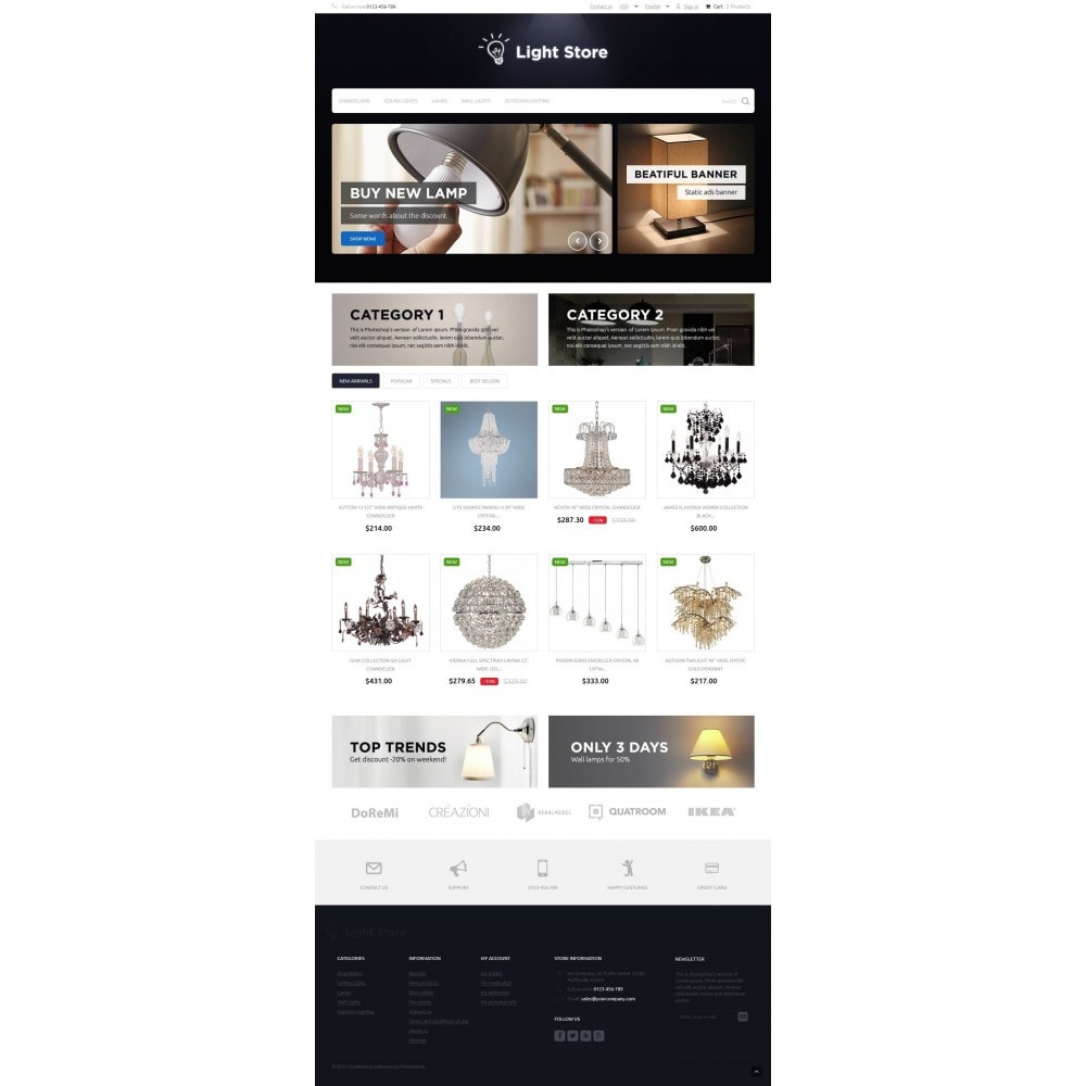 theme - Dom & Ogród - Light Store 1.6 Responsive - 2