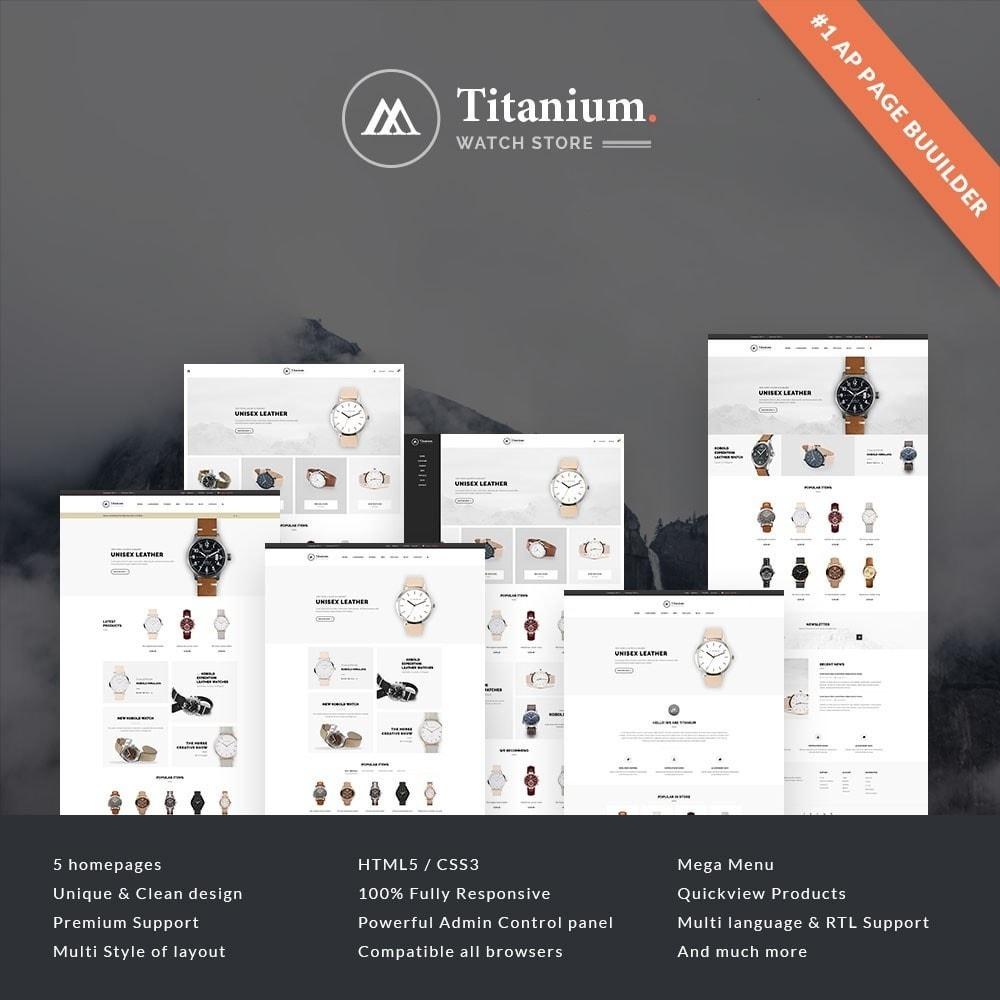 theme - Jewelry & Accessories - Leo Titanium - 1