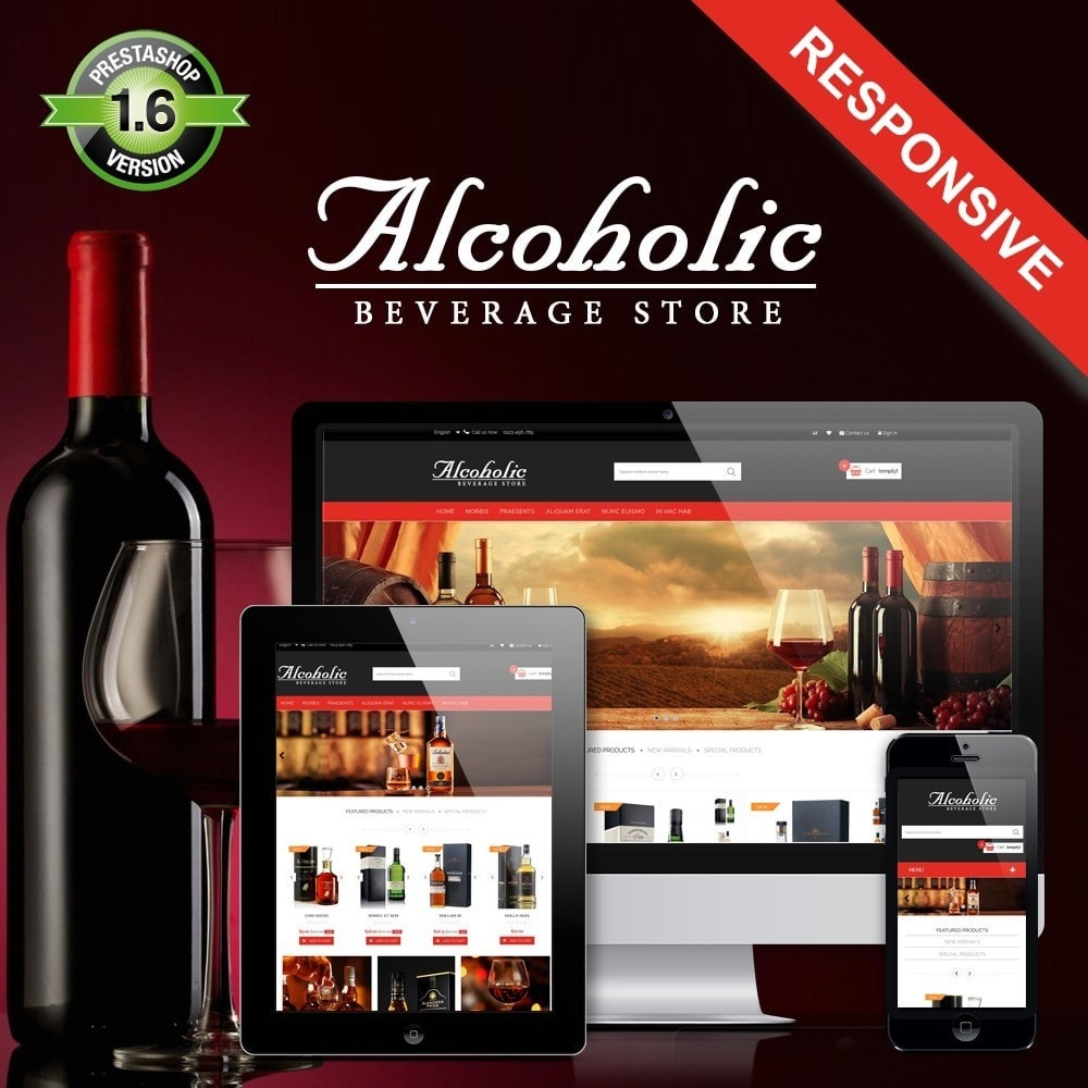theme - Drink & Tobacco - Alcoholic & Wine Shop HTML5 - 1
