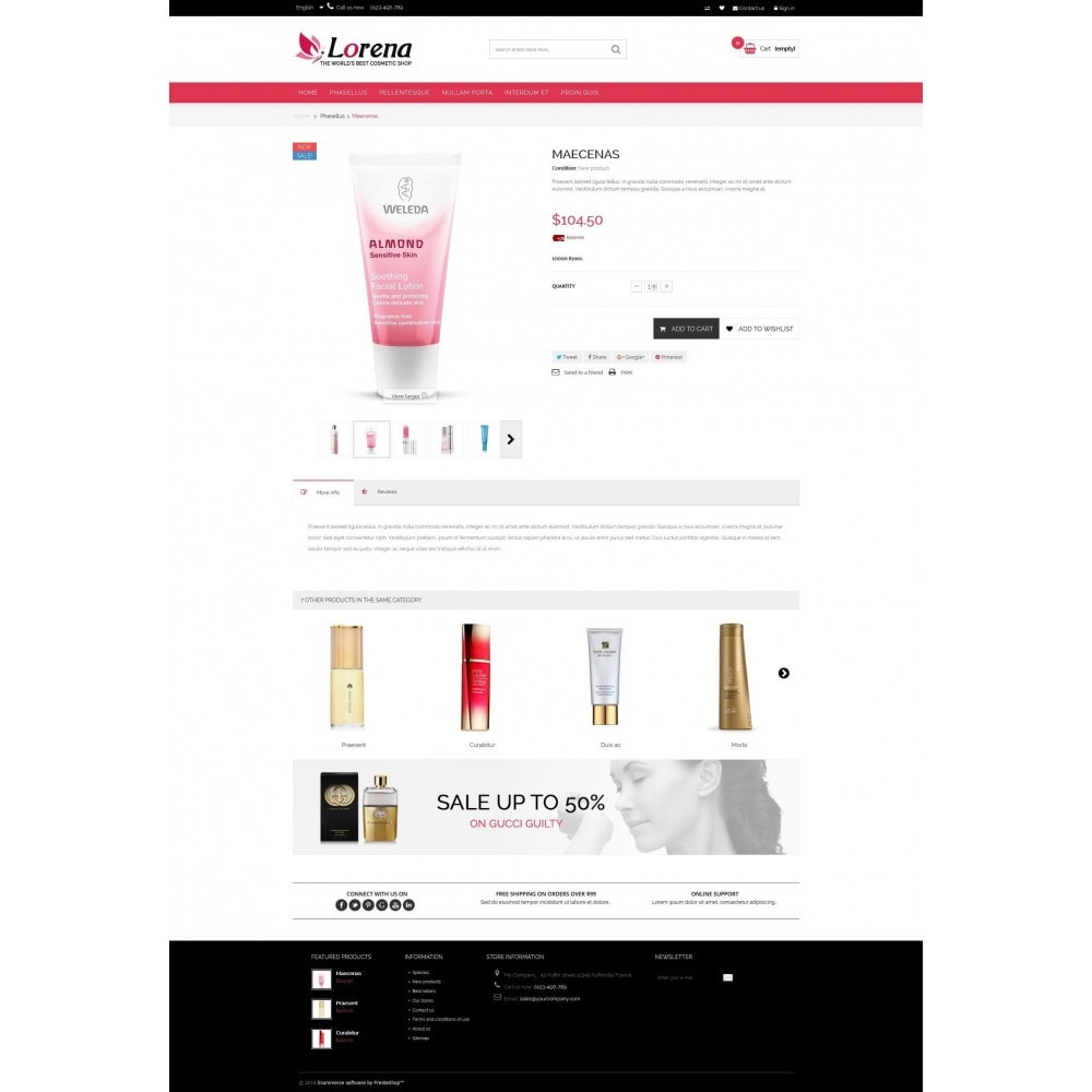 theme - Salute & Bellezza - Lorena Cosmetic Shop HTML5 - 4