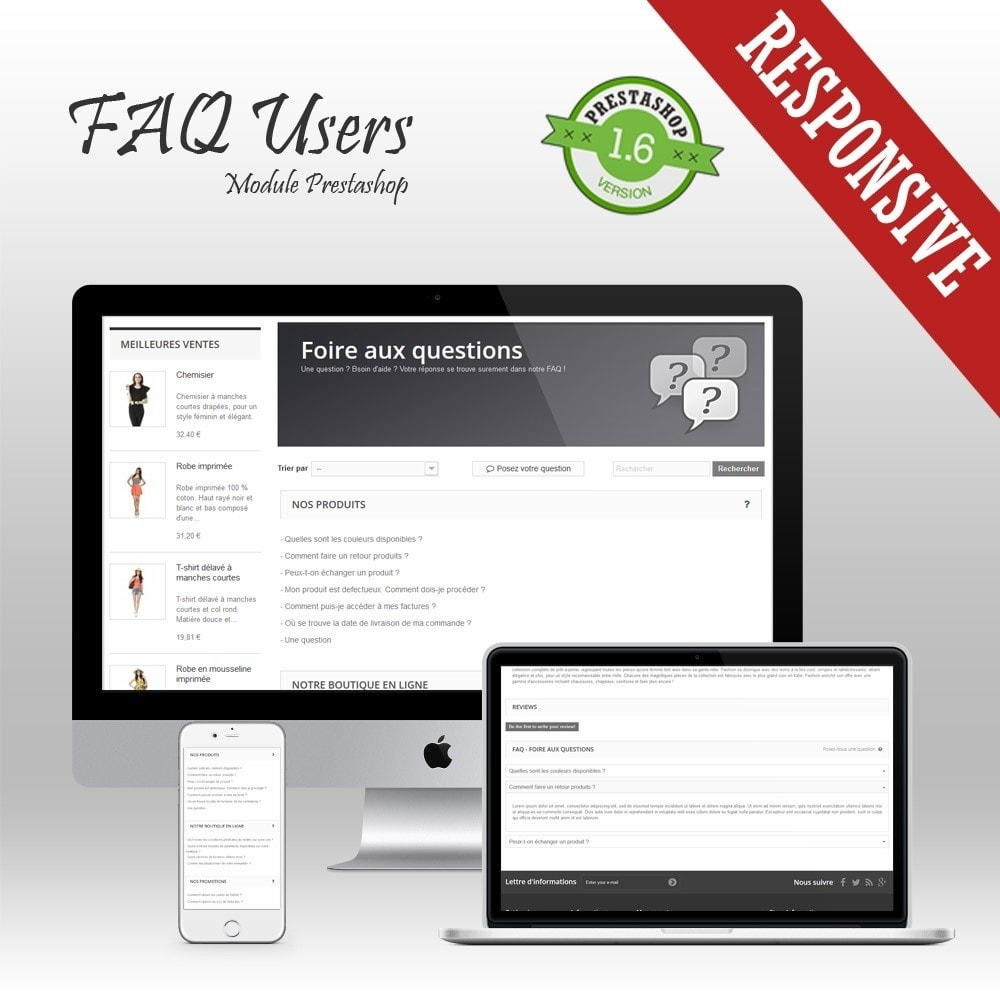 module - FAQ (questions fréquentes) - FAQ Users - Foire aux Questions - 1
