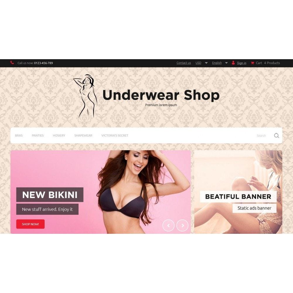 Underwear Shop 1.6 Responsive