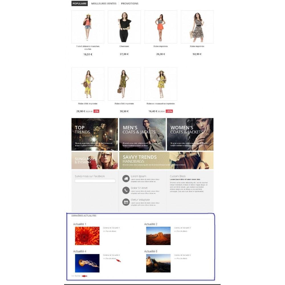 module - Blog, Forum & Actualités - Actualités dans votre boutique - 5