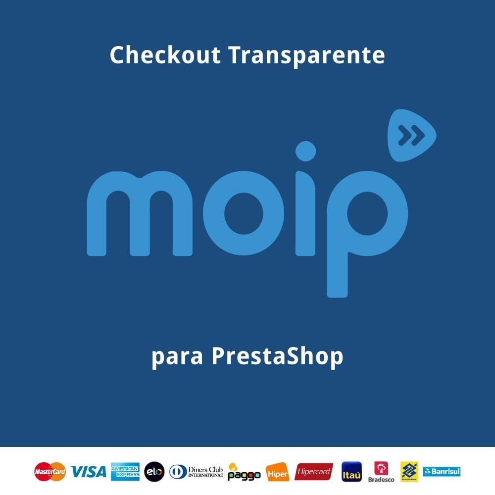 module - Creditcardbetaling of Walletbetaling - Moip Transparent Checkout - 1