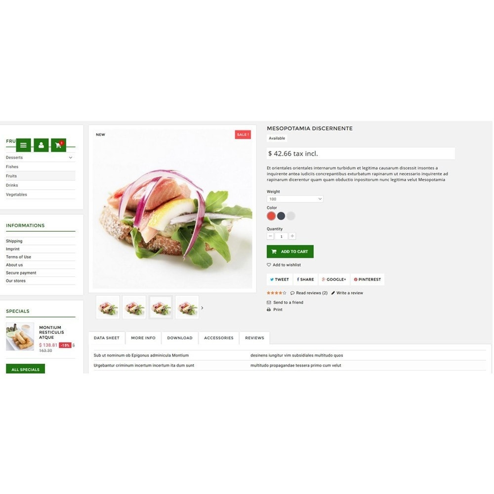 theme - Lebensmittel & Restaurants - Natura - 4