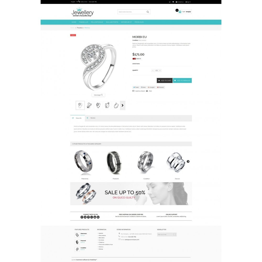 theme - Jewelry & Accessories - Jewellery Multipurpose HTML5 - 3