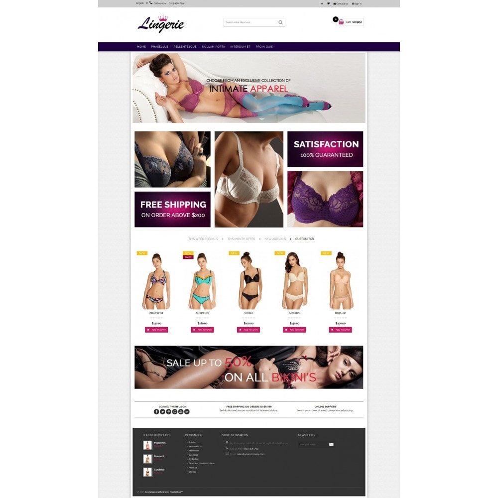 theme - Lingerie & Adulti - Lingerie & Adults HTML5 - 5