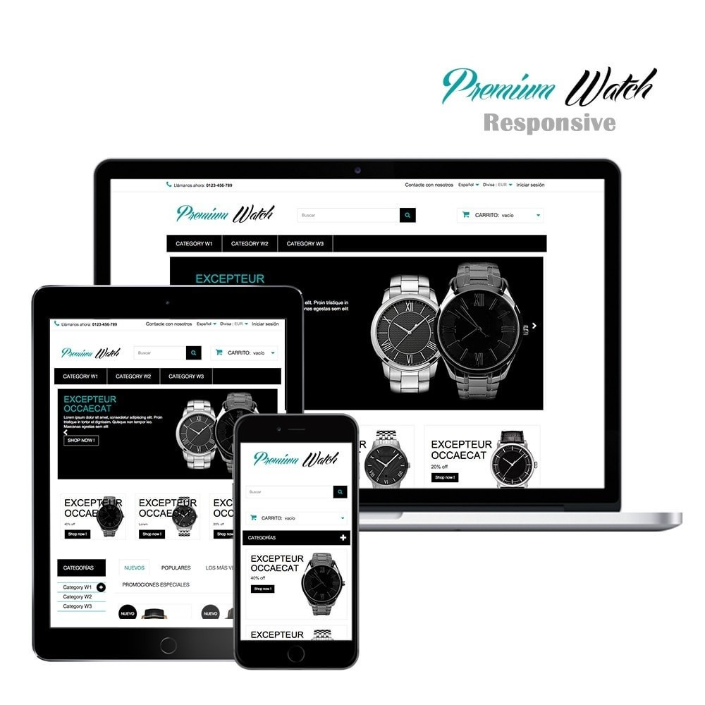 Premium Watch Shop