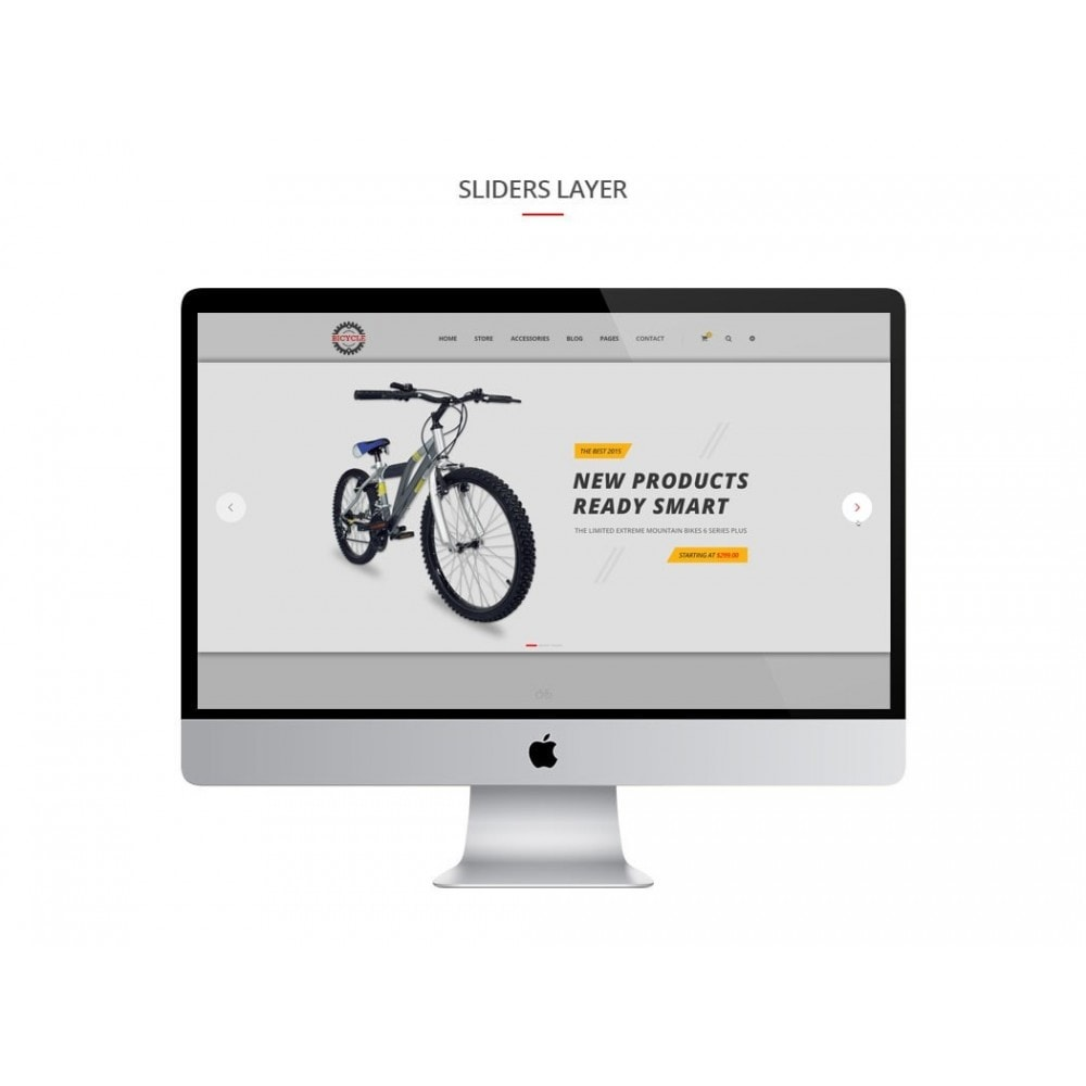 theme - Sport, Rozrywka & Podróże - JMS Bicycle - 3
