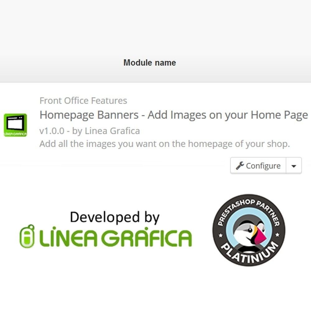 module - Personalizzazione pagine - Homepage Banners - Add Images on your Home Page - 5