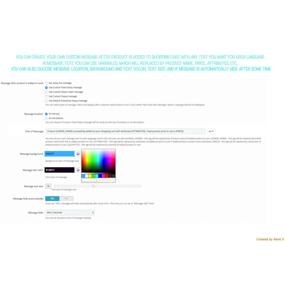 module - Inscription & Processus de commande - Add To Cart Fly Effect, Hide Popup and Other Animations - 4
