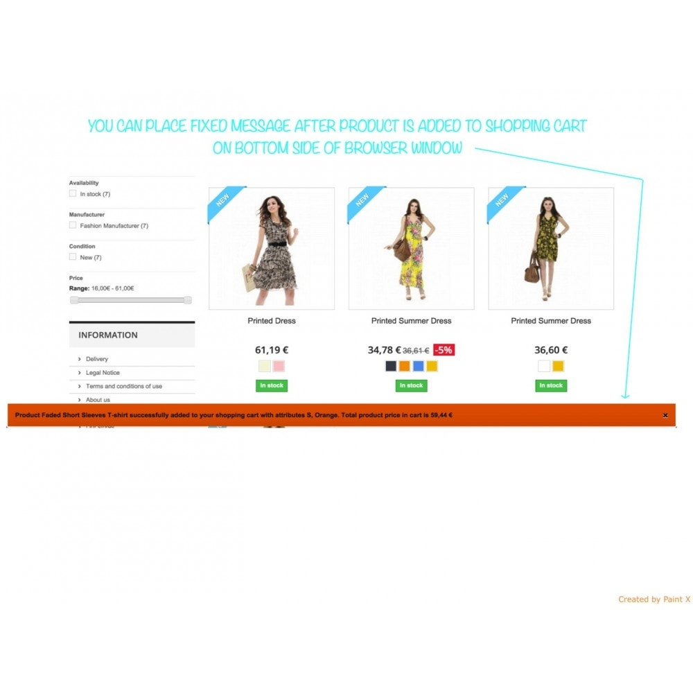 module - Inscription & Processus de commande - Add To Cart Fly Effect, Hide Popup and Other Animations - 6