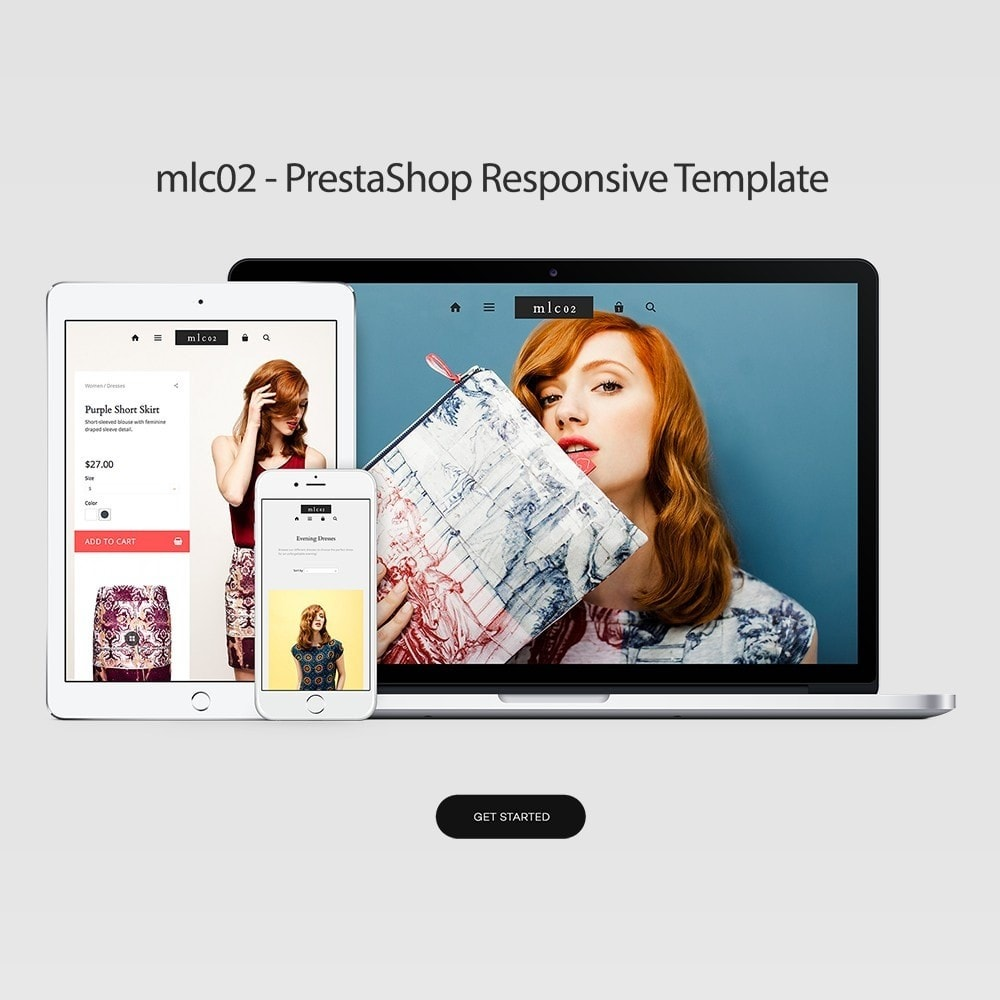 theme - Mode & Chaussures - mlc02 - A Flexible Fashion e-Commerce - 1