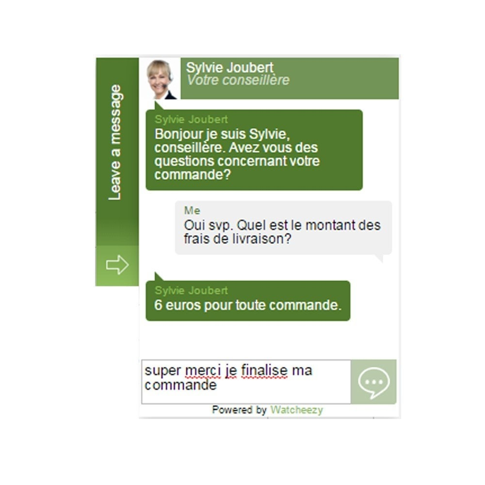 module - Support & Chat Online - Chat prédictif Watcheezy - 3
