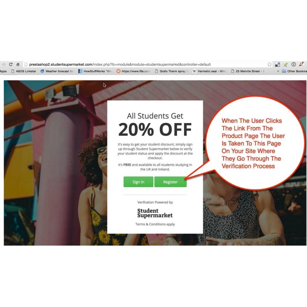module - Promotion & Geschenke - Student Discount - 4