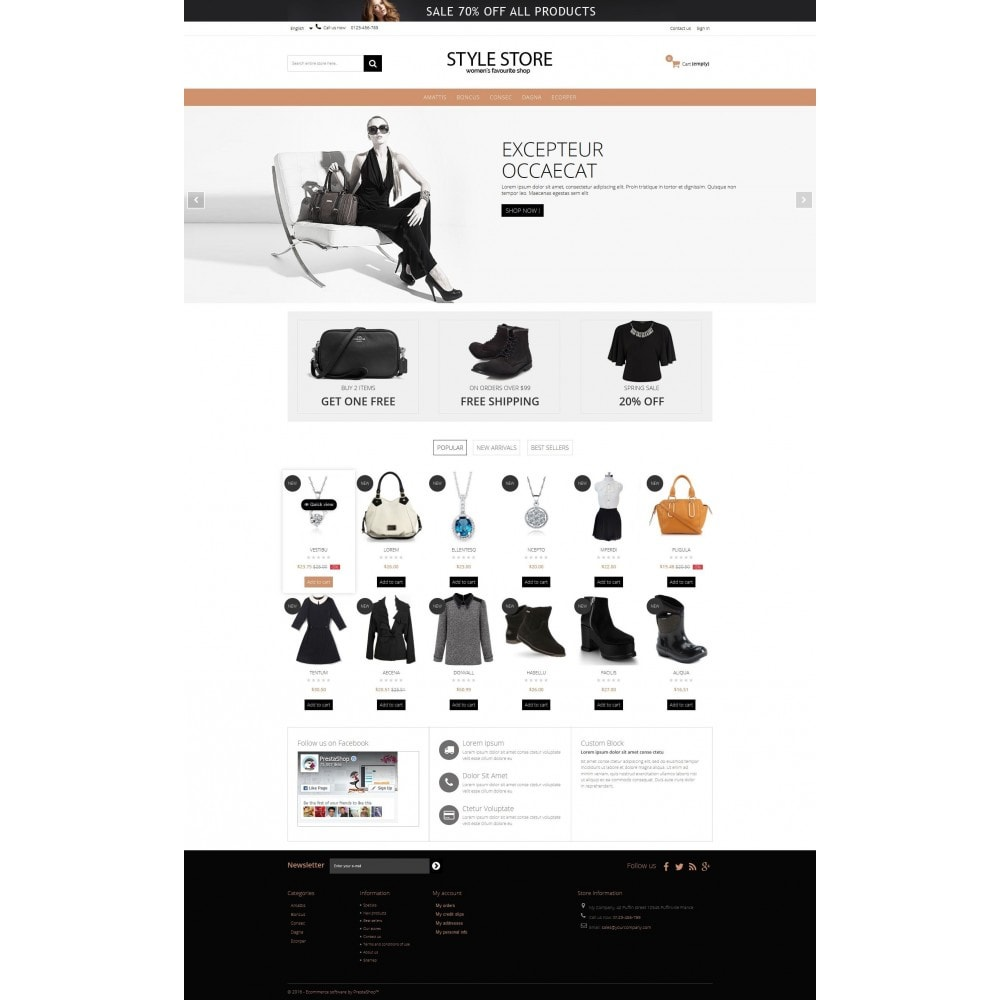 theme - Fashion & Shoes - Style Fashion Store HTML5 - 4